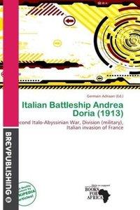 ITALIAN BATTLESHIP ANDREA DORI