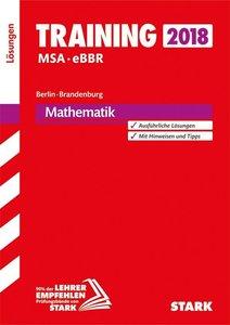 Training Mittlerer Schulabschluss Berlin/Brandenburg - Mathemati
