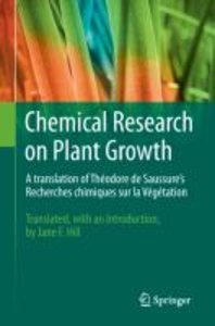Chemical Research on Plant Growth