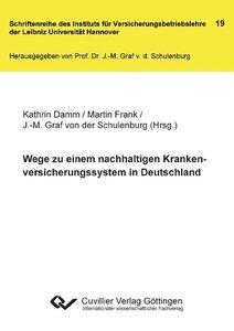 Wege zu einem nachhaltigen Krankenversicherungssystem in Deutsch