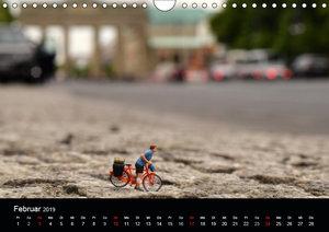 Miniansichten - Kleine Leute in Berlin (Wandkalender 2019 DIN A4