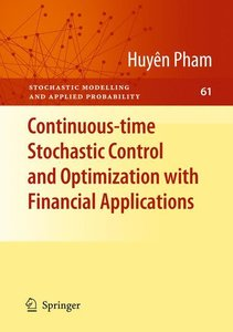Continuous-time Stochastic Control and Optimization with Financi