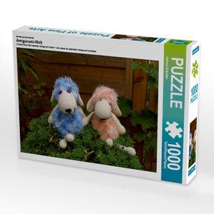 Ein Motiv aus dem Kalender Amigurumi-Welt 1000 Teile Puzzle quer