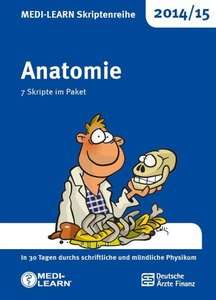 MEDI-LEARN Skriptenreihe 2014/15: Anatomie im Paket