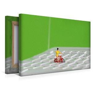 Premium Textil-Leinwand 45 cm x 30 cm quer Work Life Balance