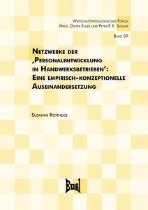 Netzwerke der ,Personalentwicklung in Handwerksbetrieben\'