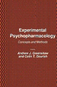 Experimental Psychopharmacology