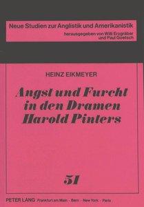 Angst und Furcht in den Dramen Harold Pinters