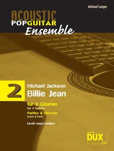Billie Jean. Besetzung: 4 Gitarren