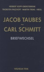 Jacob Taubes - Carl Schmitt
