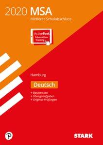 Mittlerer Schulabschluss MSA 2020 - Deutsch - Hamburg