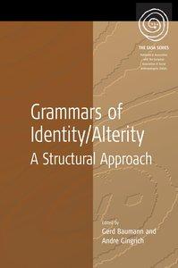 Grammars of Identity/Alterity
