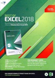 Best of Excel 2018 + Videolernkurs, 2 CDs