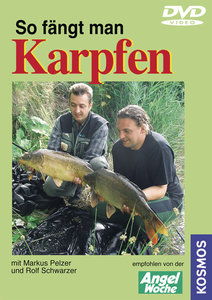 So fängt man Karpfen. DVD-Video