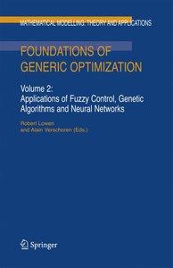 Foundations of Generic Optimization 2