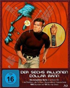 Der Sechs Millionen Dollar Mann - Die komplette Serie (Blu-ray)