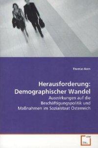 Herausforderung: Demographischer Wandel