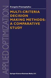 Multi-criteria Decision Making Methods
