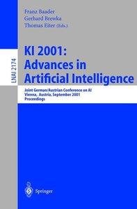 KI 2001: Advances in Artificial Intelligence