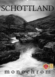 Schottland Monochrom (Wandkalender 2019 DIN A2 hoch)