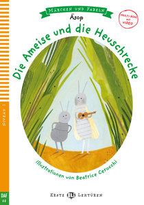 Die Ameise und die Heuschrecke. Buch und Multi-CD
