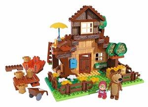 BIG 800057098 PlayBIG Bloxx Masha und der Bär, Bears House
