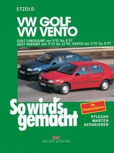 So wird's gemacht. VW Golf Limousine von 9/91 bis 8/97, Golf Var