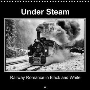 Under Steam Railway Romance in Black and White (Wall Calendar 20