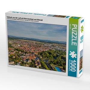 Ein Motiv aus dem Kalender Volkach aus der Luft 1000 Teile Puzzl