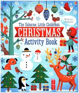 Little Children\'s Christmas Activity Book