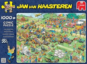 Jan van Haasteren - Rasenmäherrennen - 1000 Teile