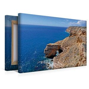Premium Textil-Leinwand 45 cm x 30 cm quer Natural Bridge im Kal