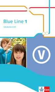 Blue Line 1. Vokabellernheft. Ausgabe 2014