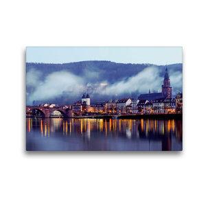 Premium Textil-Leinwand 45 cm x 30 cm quer Heidelberg - Altstadt