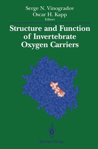 Structure and Function of Invertebrate Oxygen Carriers