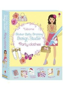 Sticker Dolly Dressing: Design Studio Party Clothes