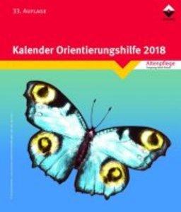 Kalender Orientierungshilfe 2018 (Block)