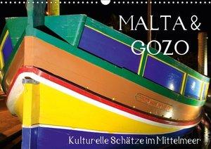 MALTA & GOZO - Kulturelle Schätze im Mittelmeer (Wandkalender 20