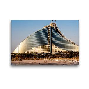 Premium Textil-Leinwand 45 cm x 30 cm quer Jumeirah Beach Hotel