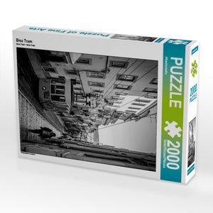 Bica Tram 2000 Teile Puzzle hoch