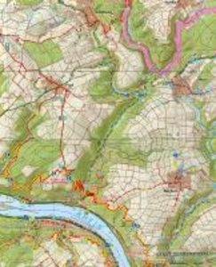 Welterbe Oberes Mittelrheintal 1-3. 1 : 25 000. Topographische F