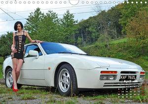 Girls and Cars (Wall Calendar 2020 DIN A4 Landscape)