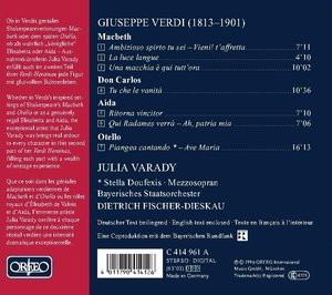 Verdi-Heroinen Vol.2 Julia Varady