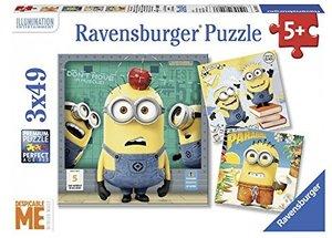 Minions Despicable Me Puzzle 3 x 49 Teile