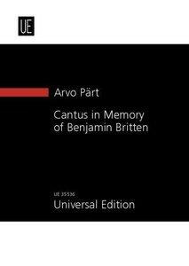 Cantus in Memory of Benjamin Britten