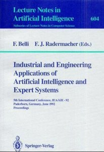 Industrial and Engineering Applications of Artificial Intelligen