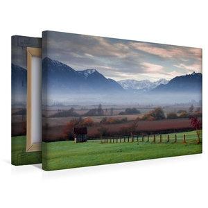 Premium Textil-Leinwand 45 cm x 30 cm quer Murnauer Moos