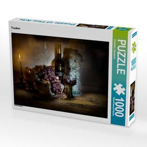 CALVENDO Puzzle Trauben 1000 Teile Lege-Größe 64 x 48 cm Foto-Pu