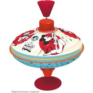 Bolz 52362 - Disney, Mickey Mouse, Brummkreisel, 16cm