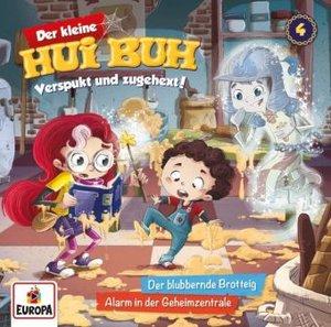 Der kleine Hui Buh 04. Der blubbernde Brotteig / Alarm in der Ge